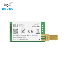 10 개/몫 E32 433T30D1B LoRa SX1278 SX1276 TCXO 433MHz rf 모듈 송신기 수신기 UART 장거리 무선 rf 송수신기