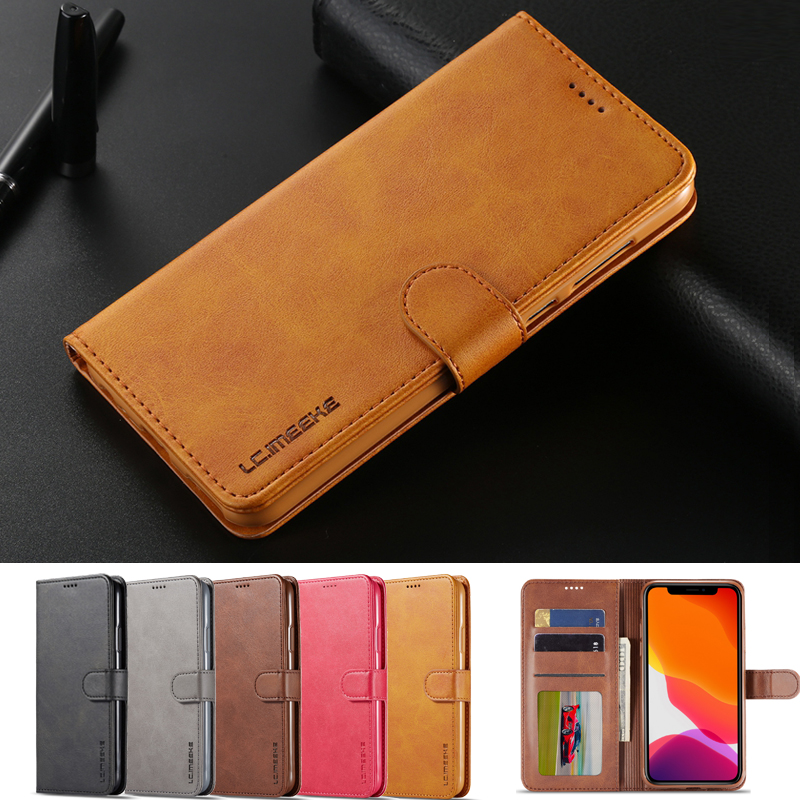 For <font><b>Samsung</b></font> Galaxy S6 <font><b>S7</b></font> <font><b>Edge</b></font> <font><b>Case</b></font> S8 Plus Leather <font><b>Wallet</b></font> Phone Cover For Coque <font><b>Samsung</b></font> Galaxy S8 S9 S 10 Plus S10e S10 5G <font><b>Case</b></font> image