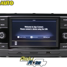 Carplay MIB Radio 5GG035280D/E CarPlay Mirrorlink Per VW T-ROC NUOVO POLO Da GOlf 7 VII Sportvan Passat B8