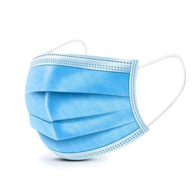 10/20/50/100 Pcs Dust Mask, Disposable Mask, 3-layer Saliva Splash Mask, Anti-fog, Anti-flu Respiratory Protective Mask 1