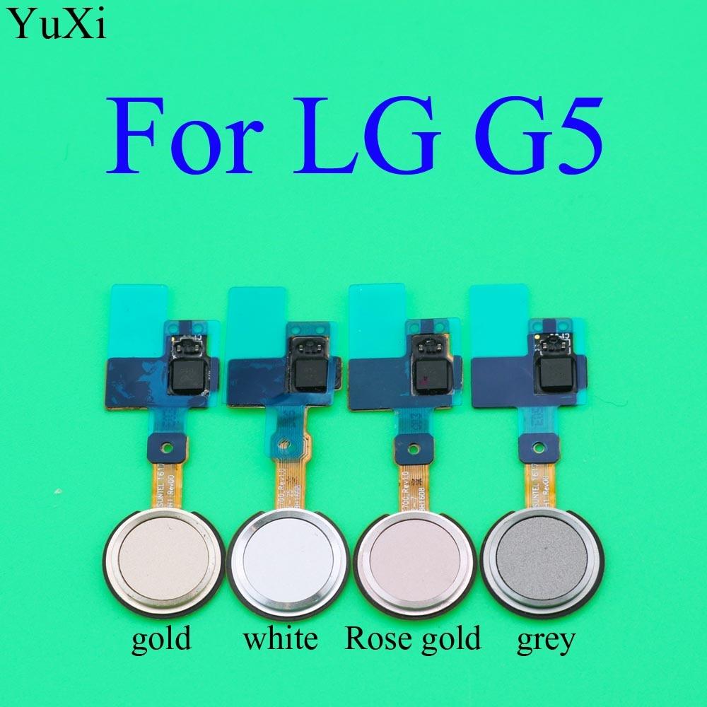 YuXi For LG G5 Fingerprint Touch ID Sensor Home Button Return Key Flex Cable H820 H830 H831 H840 H850 VS987 LS992