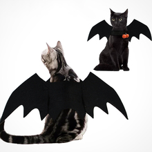 Clothing Pet-Costumes Bat Wings Cosplay Animal Prop-Outfits Cats-Ornaments Halloween