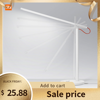 Original Xiaomi Mijia Mi Smart LED Desk Lamp Smarthome Table Lamp Dimming Reading Light WiFi Enabled Work with AMZ Alexa IFTTT