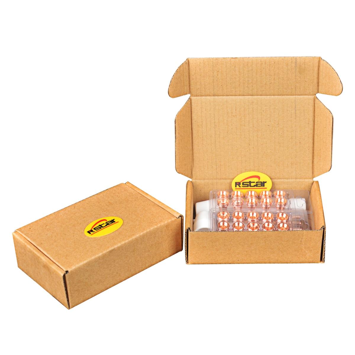 Плазменный резак электроды сопла PT-31Torch расходные материалы аксессуары стандартные советы электроды сопла щит чашка 50 шт