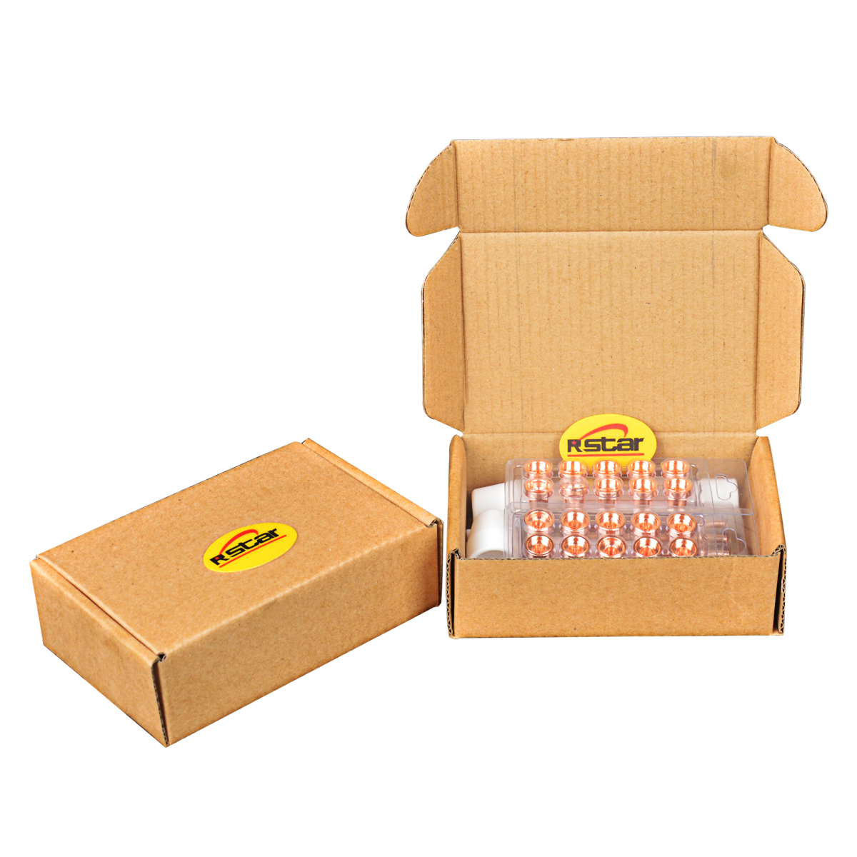 PT-31 Plasma Cutter Schneiden Verbrauchs Zubehör standard Tipps/Düse Elektroden Schild Tasse 50 stücke