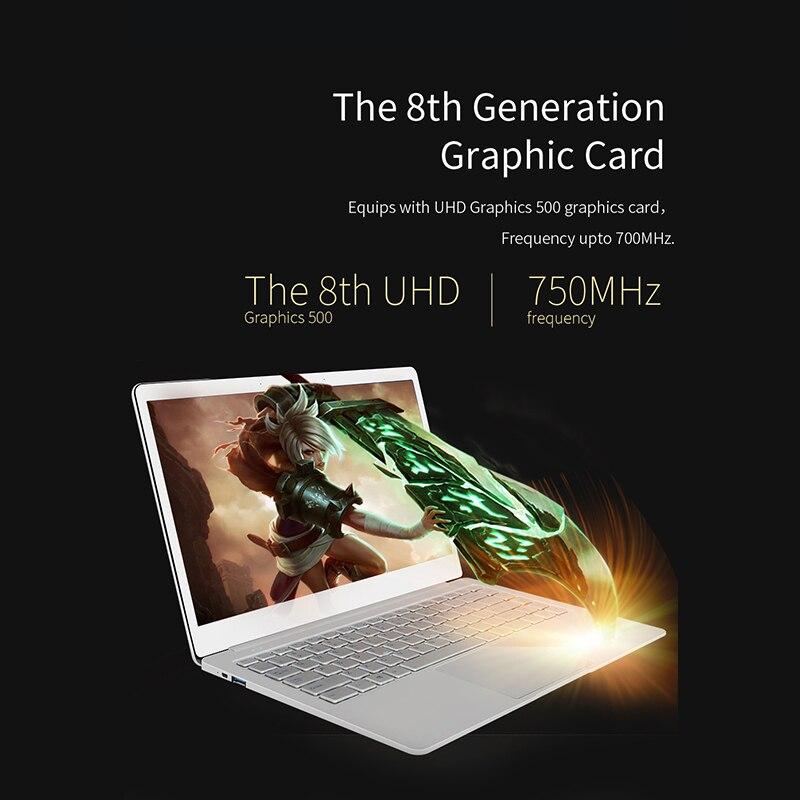 Cavalier Ezbook X4 ordinateur portable 14 pouces sans lunette Ips Ultrabook Intel Celeron J3455 6Gb Ram 128Gb Rom ordinateur portable 2.4G/5G Wifi avec Backli - 5