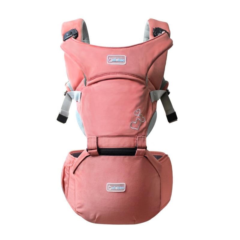 Baby Sling Front Hug Waist Stool Holding Belt Carrier Porte Bebe Ergonomique Kangaroo Hip Seat Versatile For The Four Seasons