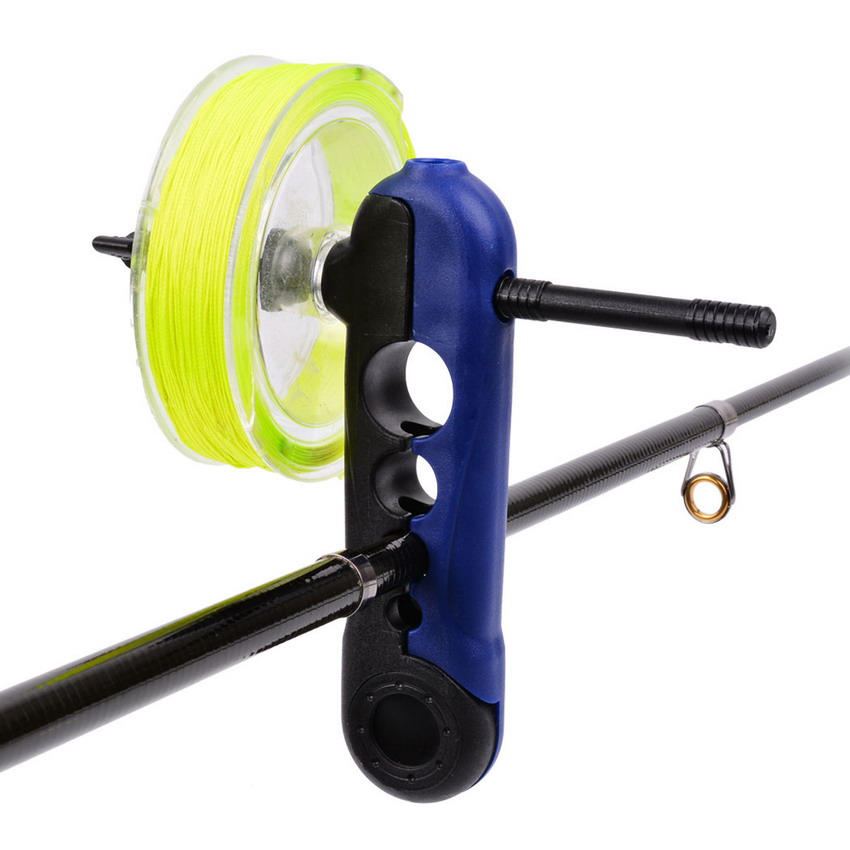 Mini Portable Universal Fishing Line Spooler Accessories Adjustable For Various Sizes Rod Bobbin Reel Winder Board Spool Line