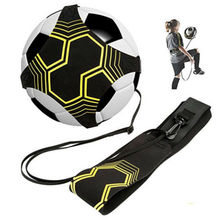 Adjustable Football Training Belt Device Auxiliary Training Ball Band Soccer Ball Kick Fitness Equipment for Primary Secondary