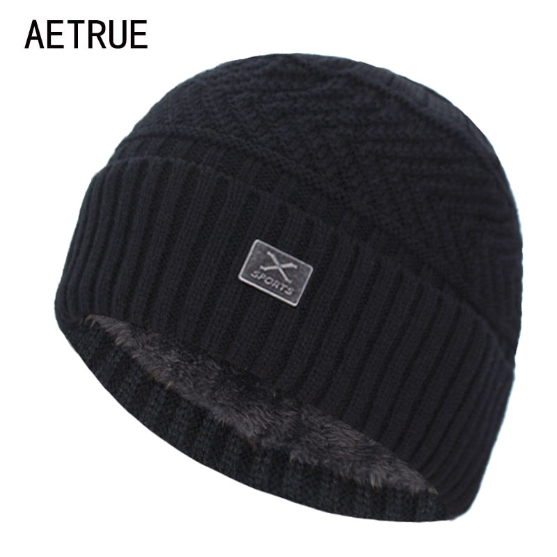 Brand Skullies Beanies Men Winter Hats For Men Scarf Women Knitted Hat Cap Winter Beanie Hat Male X Gorro Bonnet Homme Men's Cap