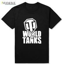 2019 Gilden Style Funny World Of Tanks T Shirt Men Manufacture World War Ii Tank T-Shirt Men Plus Short-Sleeve Top Tees boyz ii men boyz ii men twenty 2 cd