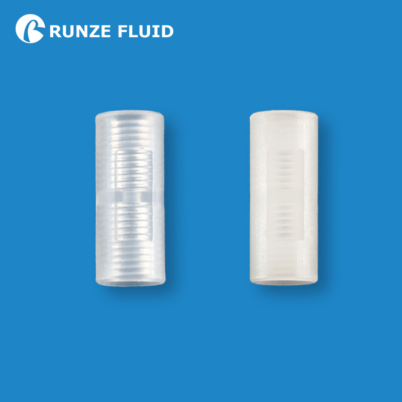 PTFE Tubing Plastic Connector Straight Union Standard Unions 1/4-28 Internal Threads Quick Connection Fittings High Quality