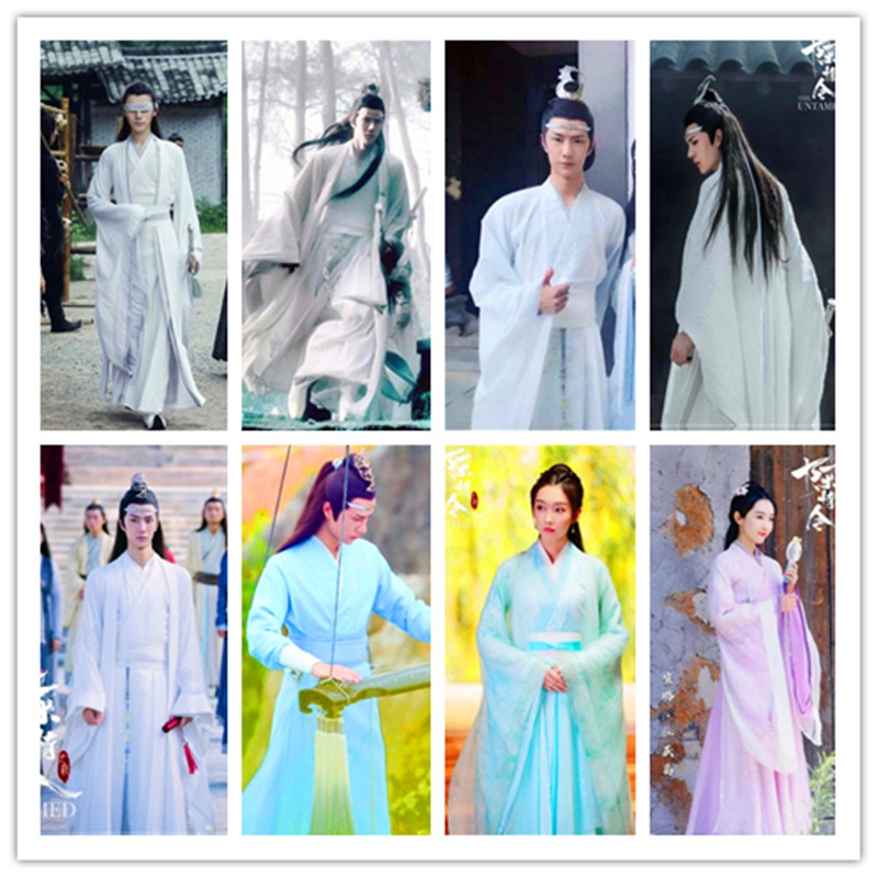 2020 Mo Dao Zu Shi Cosplay Chinese Clothes Film Tv Princess Dance Costume Ancient Tang Song Ming Dynasty Hanfu Dresses