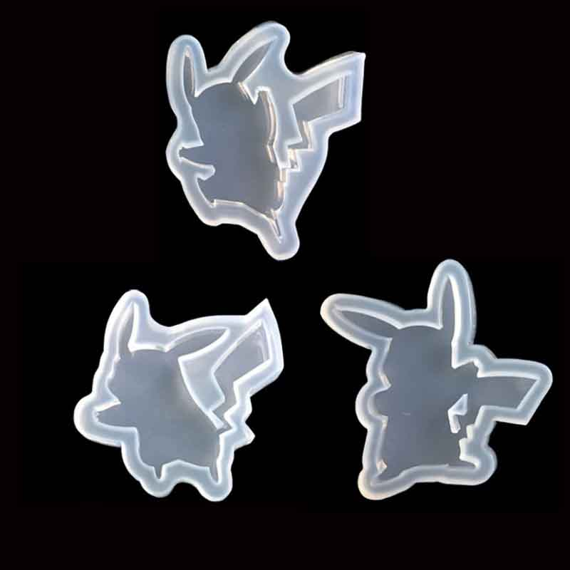 Popular1PC Cartoon Figure Liquid Silicone Expoxy Mold Resin Jewelry Mold UV Pendant Jewelry Accessories Handcraft Jewelry Tool