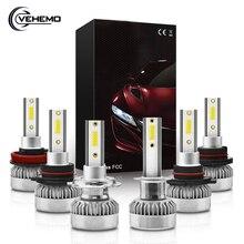 H7 светодиодный 2 шт. h1 светодиодный автомобильный светильник H11 H9 H8 HB4 9006 HB3 9005 автомобилей головной светильник 6000K 8000 мл супер яркий H7 светодиодный Canbus лампы светильник s IP68