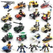 Spelling Insert Beneficial Wisdom Plastic Small Grain Building Blocks Toys Kindergarten Children Military Police