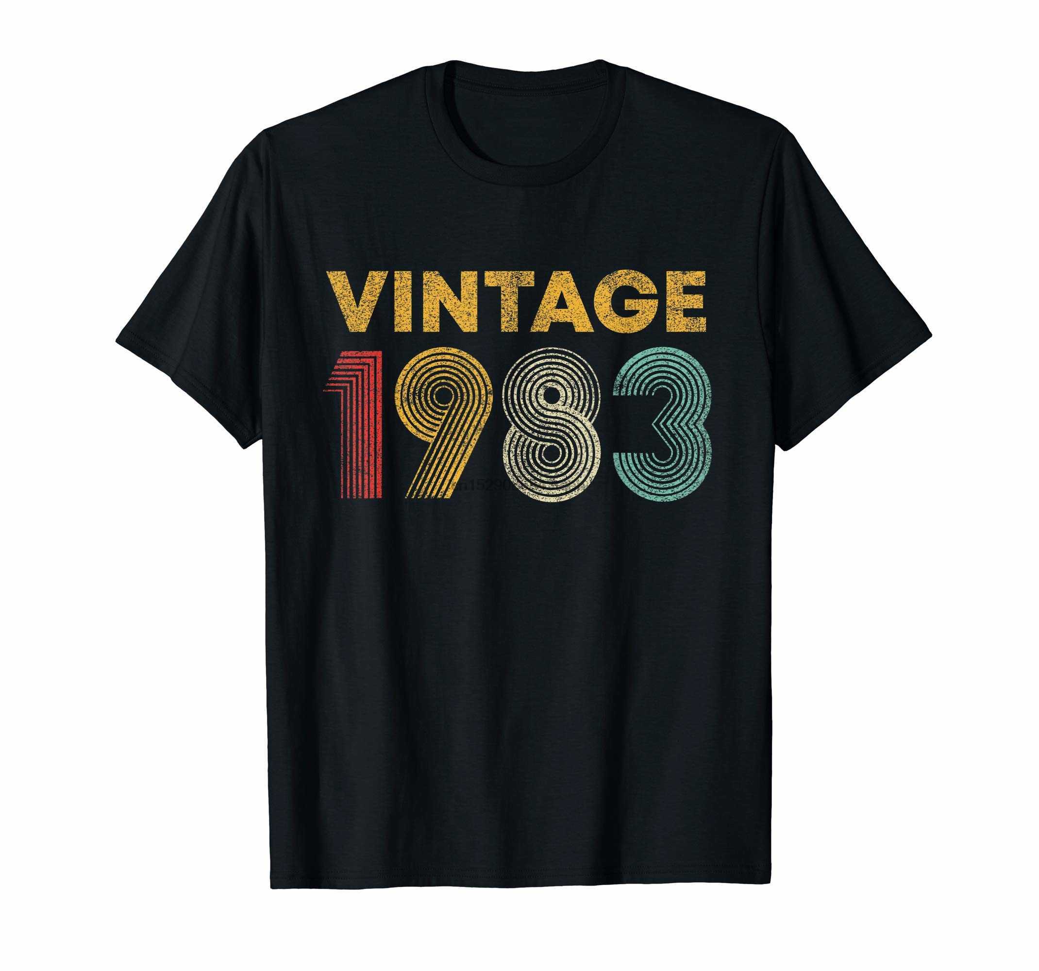 New Vintage Hot Rare 80/'s Neil Young Solo Tour Hippie Rock 1983 Tee Reprint
