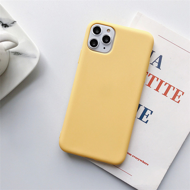 Apple Iphone Silicon Matte Case