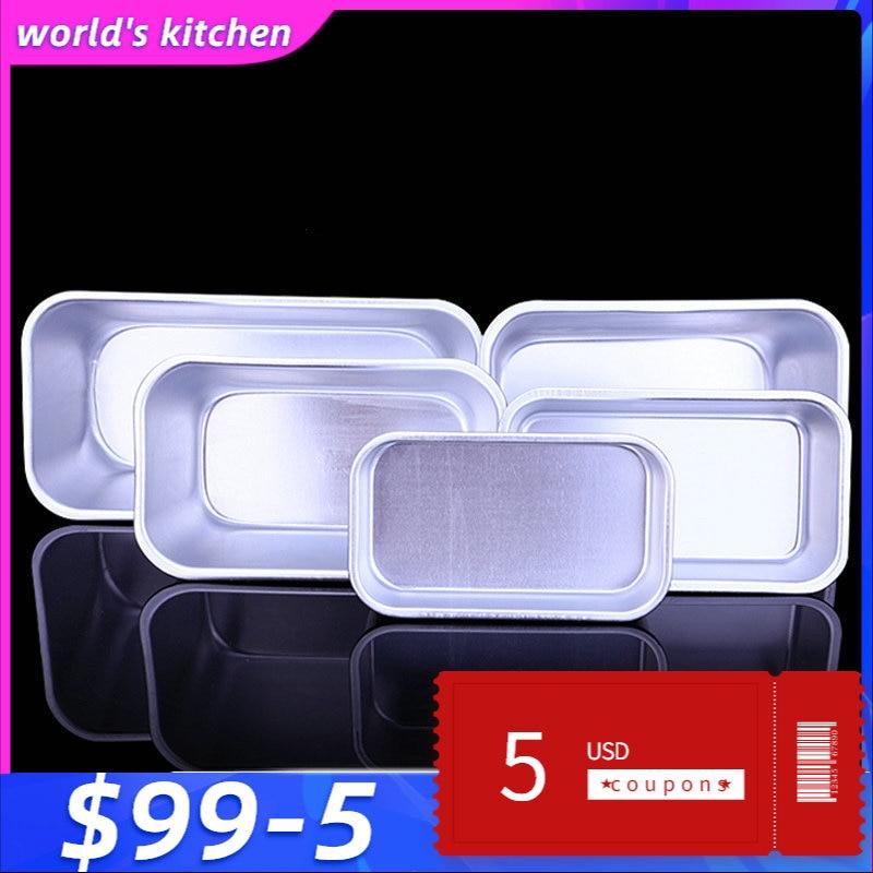 Алюминиевая прямоугольная форма для выпечки, жестяные выпечка, чехол для выпечки, инструменты для украшения торта, 5 размеров на выбор|baking oven|decorating cake toolscake baking tools | АлиЭкспресс