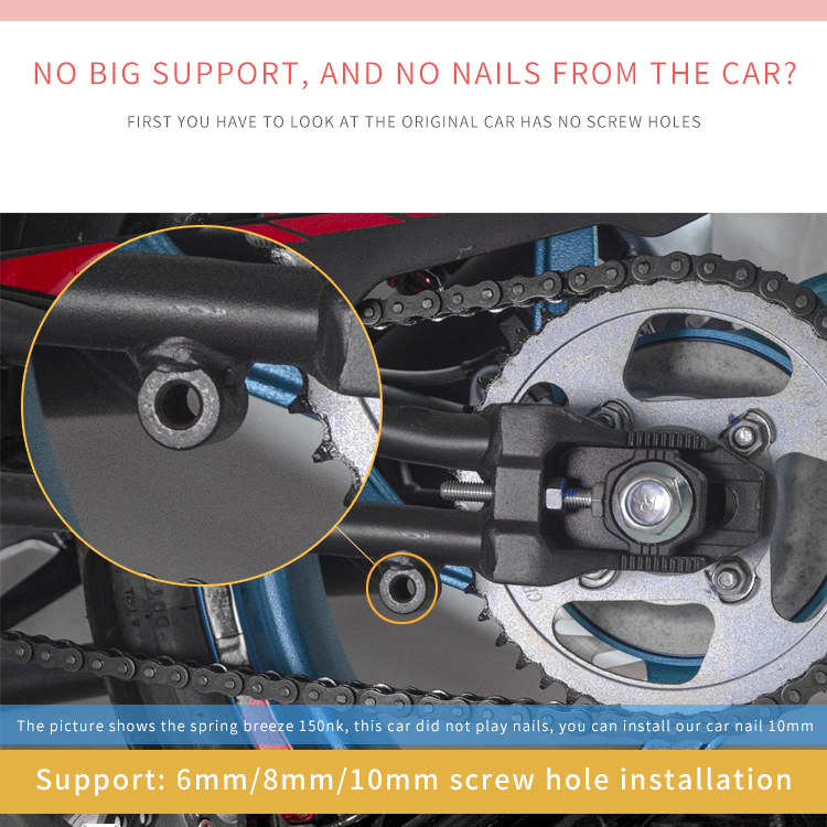 Spirit Beast Motorcycle Screw Parking Bracket Swing Arm Spool Stand Accessories For Honda KTM Yamaha Suzuki Harley BMW Kawasaki