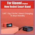 13g de carregamento direto original xiaomi redmi banda 2020 pulseira inteligente 5atm 1.08 bluetooth 5.0 freqüência cardíaca sono esportes 14 dias