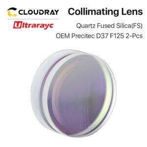 Image 2 - Ultrarayc Spherical Focusing Lens  D37 F75 F100 F125mm Precitec Quartz Fused Silica Lens for High Energy Fiber Laser