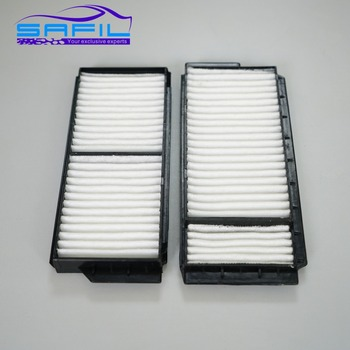 2Pcs Car Cabin Air Filters for Mazda 3 M3 M5 BBP2-61-J6X image