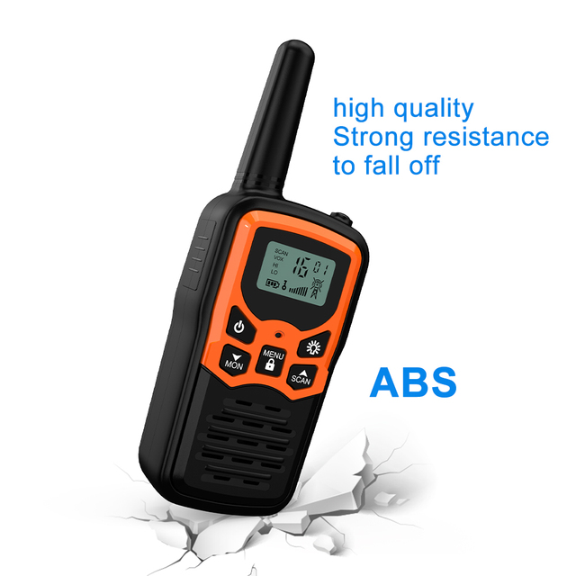 (2pcs) Mini Handheld Walkie Talkie Portable Radio High Power VHF Handheld Two Way Ham Radio Communicator Transceiver рация 5 KM 10
