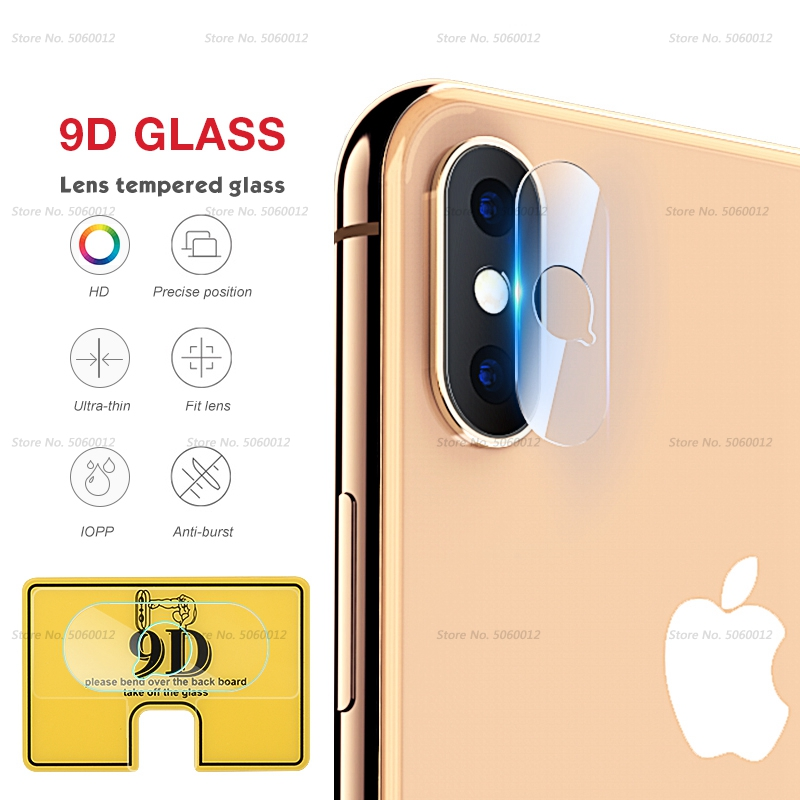 Ultra Thin Back Protective Camera Lens For iPhone XS XSMAX XR X 7