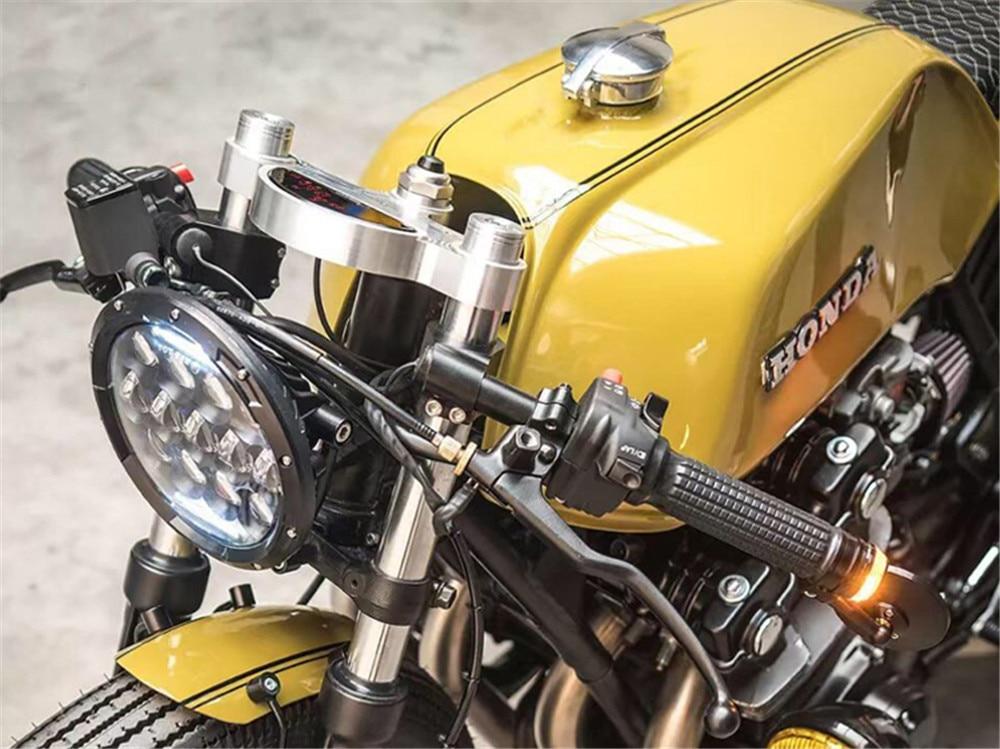 Motocicleta clip on guiador 22mm se encaixa