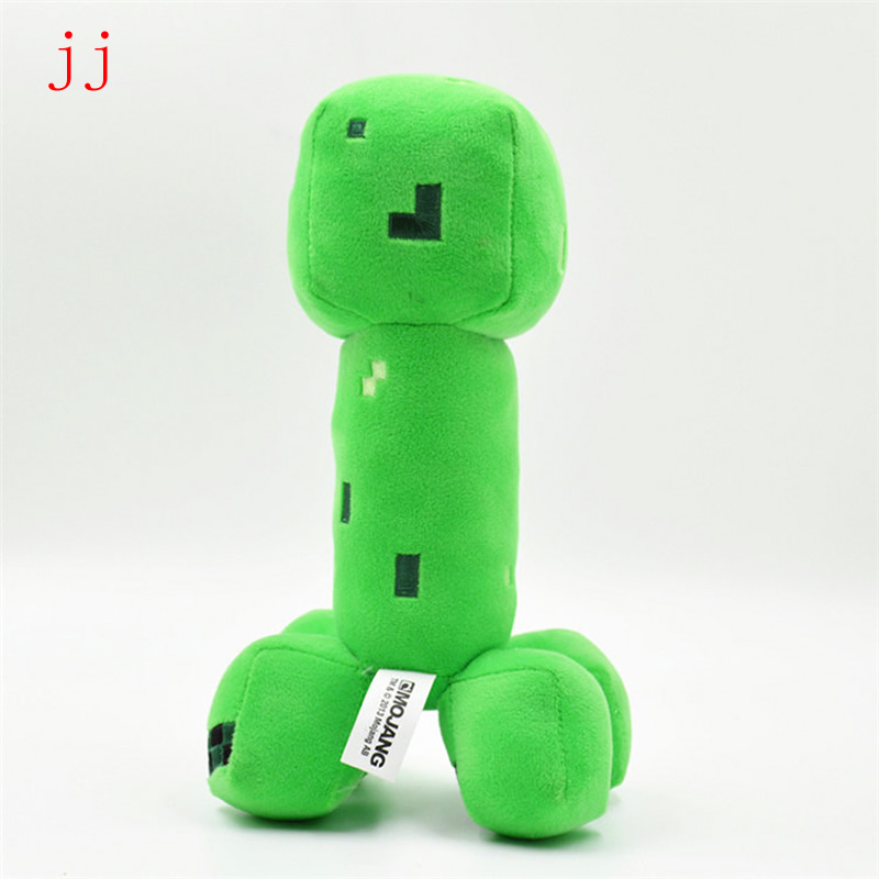 18cm Cooly Creeper JJ Plush Toy Doll Green Creeper Plush Soft Stuffed Toys Brinquedos Popular Gifts For Children Kids