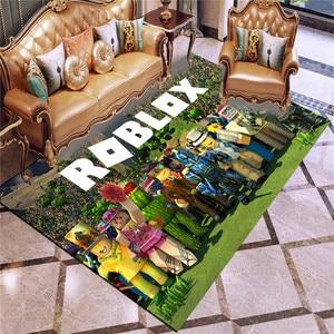 Roblox boy gife 3D printing tapetes, for adult yoga mat living room bedroom balcony decoratio machine washable anti-slip rug