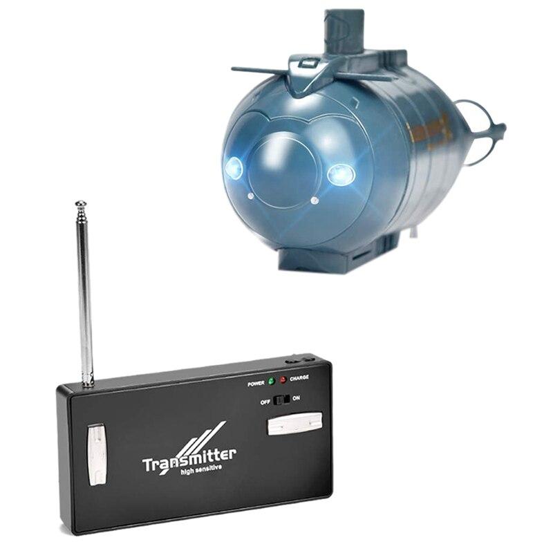 Мини пульт дистанционного управления подводная лодка беспроводной пульт дистанционного управления подводная лодка пульт дистанционного управления игрушка пульт дистанционного управления беспилотная спасательная лодка симулятор - Цвет: Blue