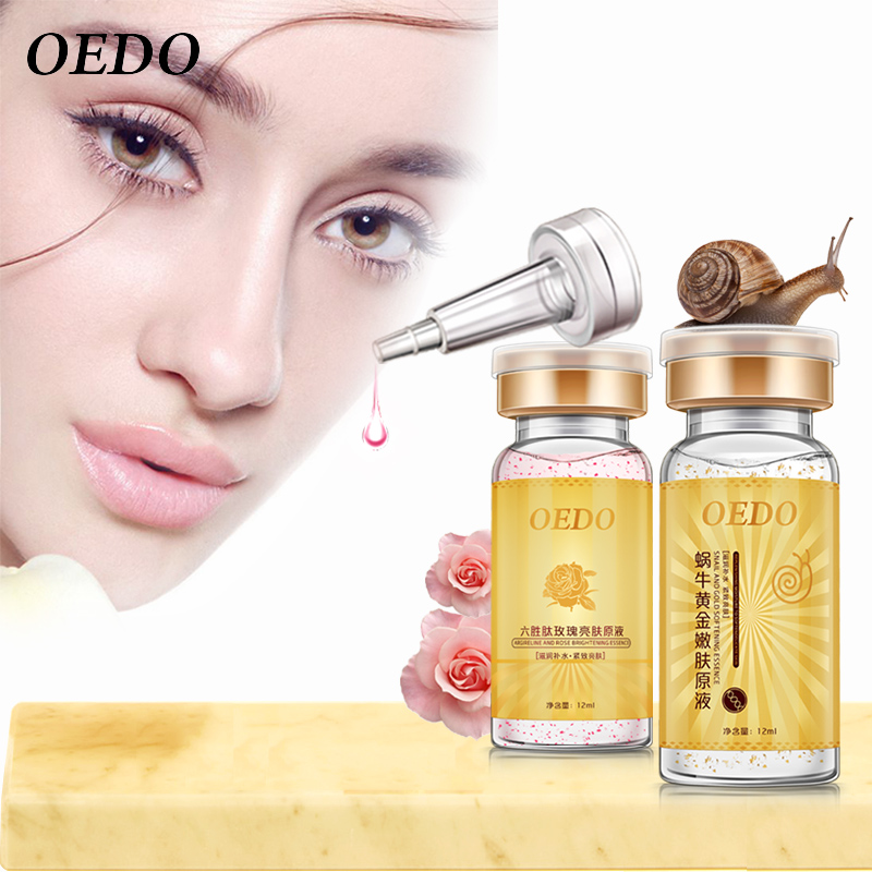 Argireline And Rose Serum+Gold Snail Essence Moisturizing Whitening Anti Aging Face Care Oil Control Lifting Firming Skin Care