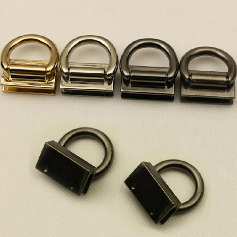 Hot Sale 4 Color Clasp For Bag Handbag Button Metal Connector Cross Body Shoulder Bag Chain Lock Clasps For Bags Accessories