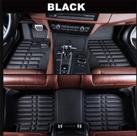 SJ 3D wodoodporne niestandardowe dywaniki samochodowe przód i tył FloorLiner stylizacja dywanik samochodowy mata do HONDA Fit Jazz 2008 2009 2010 11 2013 w Dywaniki od Samochody i motocykle na