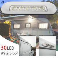 12 فولت RV LED المظلة الشرفة ضوء IP67 مقاوم للماء الخارجي الداخلية الجدار مصباح إضاءة البار العالمي لقارب قافلة منخفضة الطاقة Consuption