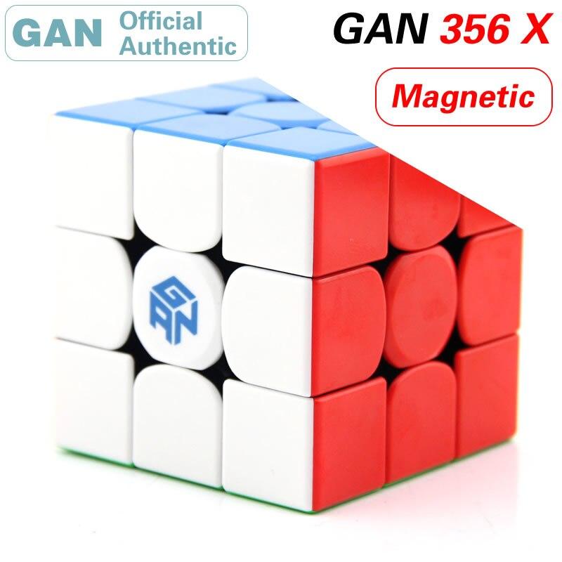 GAN 356 X 3x3x3 Cube magique IPGv5/numérique IPG 3x3 magnétique GAN356/356X professionnel néo vitesse Cube Puzzle Antistress Fidget jouet