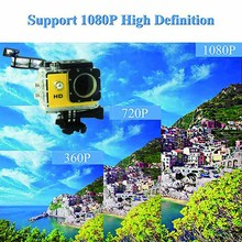 цена на Action Camera HD 1080P Adjustable Underwater Recorder Sports Cameras For Swimming Surfing Diving