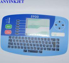 עבור Linx 5900 מדפסת מקלדת תצוגת 5900 תצוגת מקלדת 5900 מקלדת ממברנות