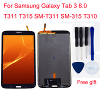 For Samsung Galaxy Tab 3 8.0 T311 T315 SM T311 SM 315 T310 LCD Touch Screen Digitizer LCD Display Panel Monitor Assembly