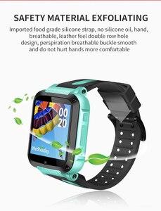 Image 4 - IP67 مقاوم للماء الذكية لتحديد المواقع موقع SOS دعوة عن بعد كاميرا مراقبة ساعة اليد تعقب الاطفال الأطفال الطلاب الفيسبوك ساعة Whatsapp