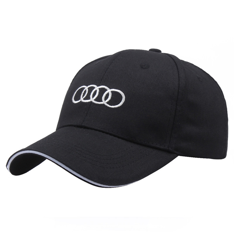 Foreign trade wholesale Spot racing   baseball     cap   word Cotton car activity   cap   Advertising sun hat FOR AUDI