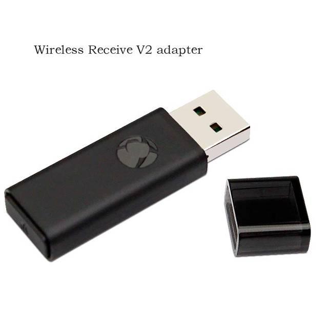 PC Adapter bezprzewodowy odbiornik USB do konsoli Xbox One Adapter drugiej generacji kontroler Adaptador do komputerów przenośnych z systemem Windows 10