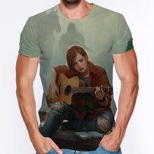 3d print t shirt the last of us short sleeve man women 2020