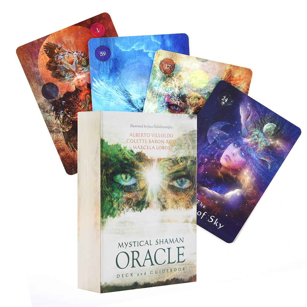 cartes-d'oracle-de-chaman-mystique-cartes-d'oracle-de-tarot