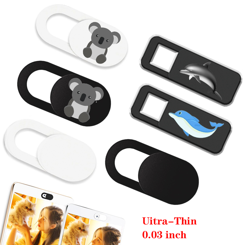 Orsda 6PC Webcam Cover Universal  Phone Laptop Camera Cover Cache Slider Magnet Web Cam Cover For IPad PC Macbook Privacy Sticke