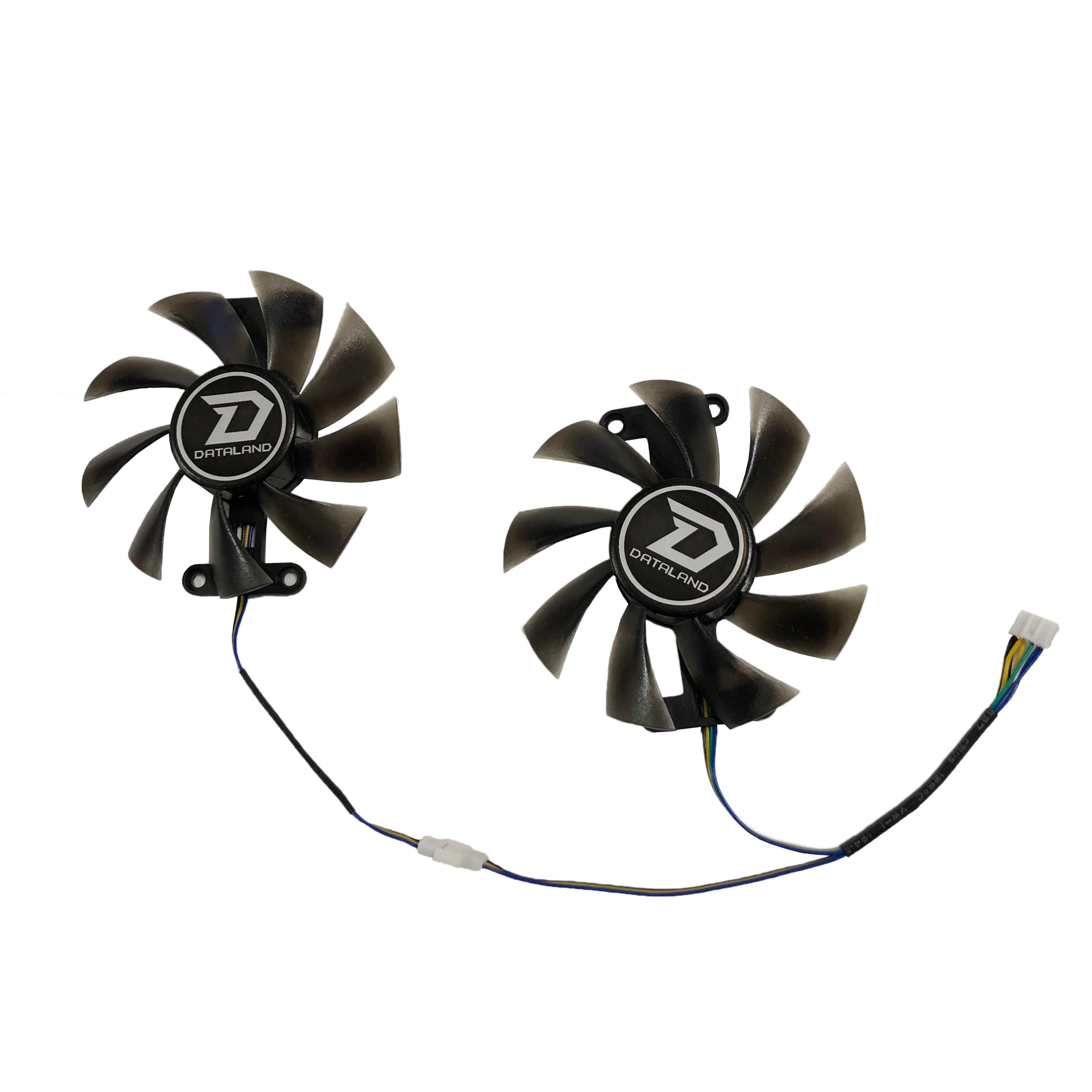 2 Teile/satz PLA09215B12H PowerColor Rot Teufel RX 480 470 580 GPU Kühler Fan Für Red Dragon AX RX470 RX480 RX580 video Karten Kühlung