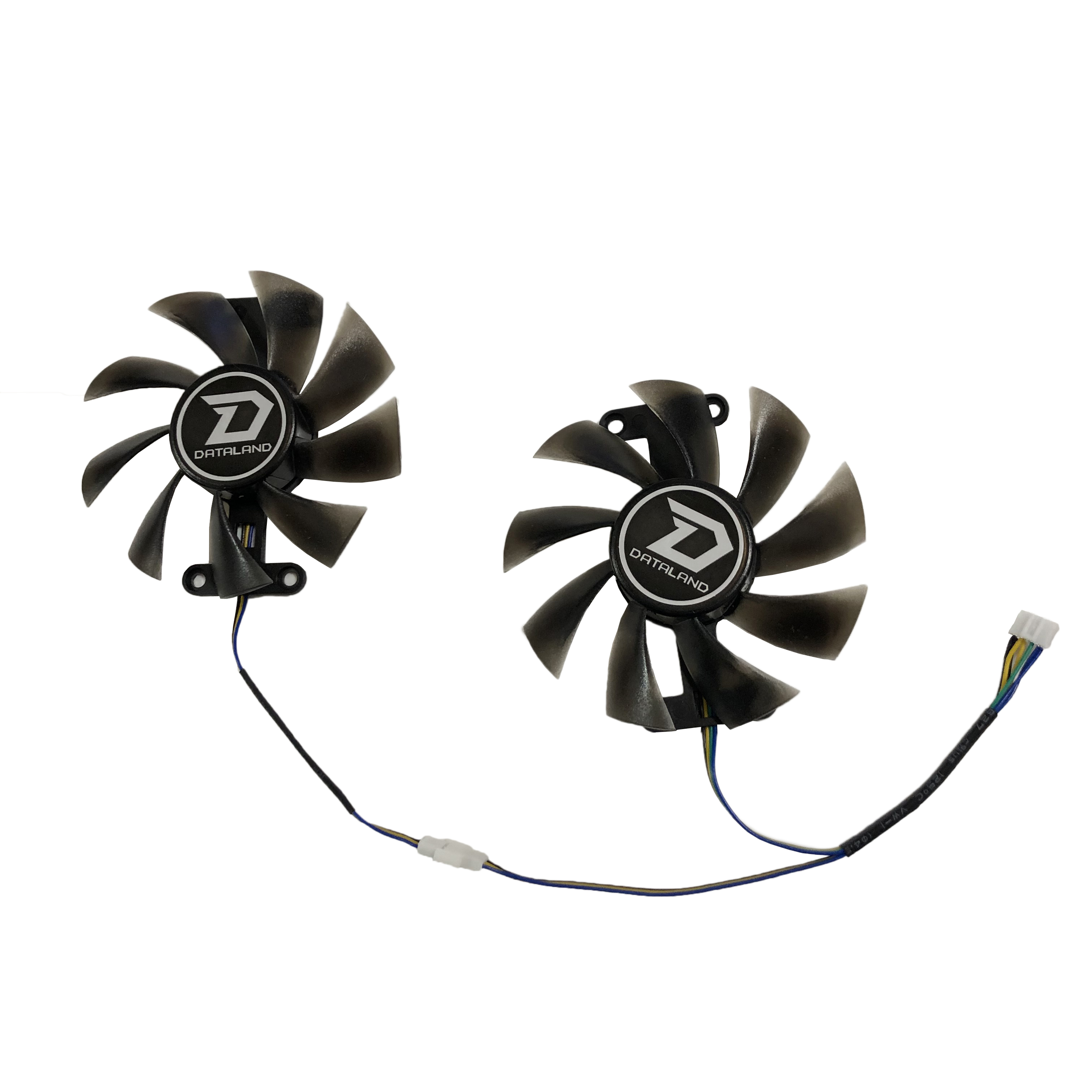 2Pcs/set PLA09215B12H PowerColor Red Devil RX 480 470 580 GPU Cooler Fan For Red Dragon AX RX470 RX480 RX580 Video Cards Cooling