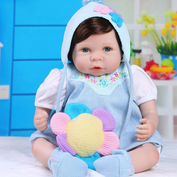 NPK New 53cm Silicone Reborn Super Baby Lifelike Toddler Baby Bonecas Kid Doll Bebes Reborn Brinquedos Reborn Toys For Kids Gift